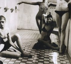 Bath House, New York,  Vogue, 1975Photographer: Deborah Turbeville