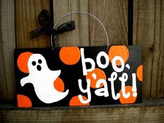 Boo! (I keep hearing Paula Deen's voice in my head whenever I read this sign.)