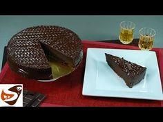 Torta al cioccolato: morbida, fondente e senza glutine - dolci veloci (chocolate cake recipe) - YouTube