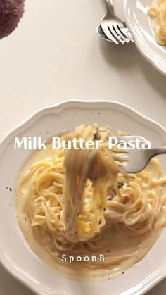 Butter Pasta, Butter Noodle Recipe, Healthy Alfredo Sauce Recipe, Good Healthy Recipes, Vegetarian Recipes, Cooking Recipes, Pasta Dinner Recipes, Western Food, Quick Meals