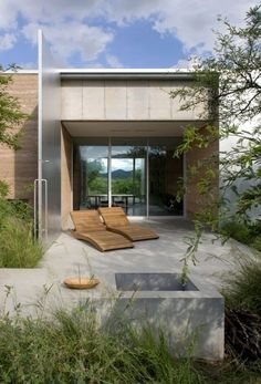 Adobe Canyon House  Arizona by Rick Joy 008