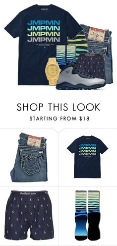 """Deonte"" by og-kinghenry15 ❤ liked on Polyvore featuring True Religion, Polo Ralph Lauren, Rolex, men's fashion and menswear"