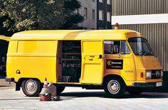Mercedes-Benz 206 D und L 207, L 306 D und L307 auf Hanomag-Henschel-Basis. (1971)