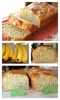 Banana Bread Makeover Recipe - Love banana bread?  This makeover is healthier than the original, and actually tastes better! http://www.superhealthykids.com/banana-bread-makeover/