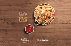 Cocina que Inspira - EL UNIVERSO on Behance