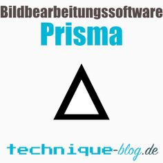 Bildbearbeitungssoftware Prisma