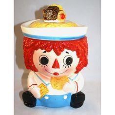 Old & New 2012 - 1950's, Vintage, Napco Rageddy Andy Cookie Jar