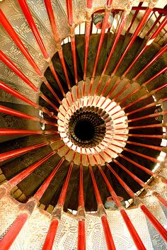 Man has built so many cool things, and spiral staircases has to be one of them. I enjoy getting all the way up just to look down and enjoy the way the spiral goes on. Here are some amazing photographs that captured that exactly moment, enjoy!