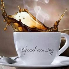 Good Morning Friends Images, Good Morning Beautiful People, Good Morning Photos, Good Morning Flowers, Good Morning Good Night, Good Morning Inspirational Quotes, Morning Quotes, Wax Lyrical, Cinnamon Coffee