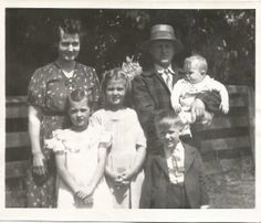 Wood Family Before WWII