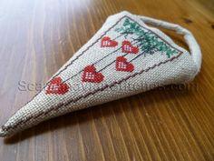 Scandinavian Stitches ~ Nordic Hearts Ornament Chart