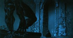 Visual Development from Beauty and the Beast by Hans Bacher