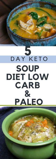 5 Day Keto Soup Diet – Low Carb & Paleo