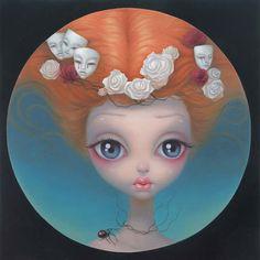 masker i hår Chen Hongzhu: Summer Twilight Mark Ryden, Chen, Arte Lowbrow, Pop Surrealism, Surreal Art, Art Dolls, Fantasy Art, Illustration Art, Fine Art