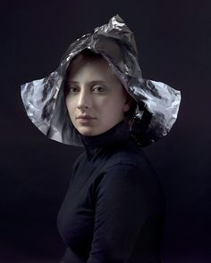 A photograph with the ghost of 17th century Dutch painters...Hendrik Kerstens, Aluminium, 2012