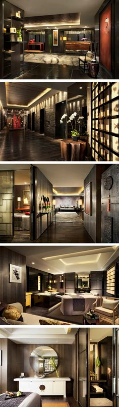 Qin Spa at Four Seasons Shanghai #hotelinteriordesignideas