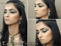 @MissTake. Mira lo que encontre justo para tu disfraz <3  Egyptian Princess - Halloween Look