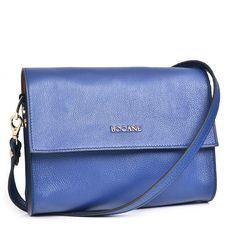 "Geanta de Piele ""Button"" Bocane, Albastru Imperial - Bocane Italian Leather, Hand Bags, Leather Bag, Kate Spade, Fashion, Moda, Fashion Styles, Handbags, Purse"