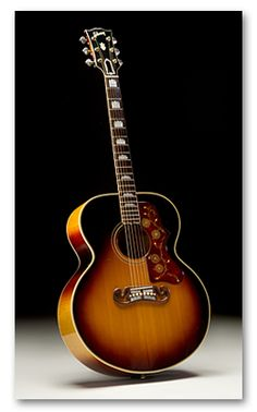 Vintage 1959 Gibson J-200 Flat Top Acoustic Guitar.  Good lord