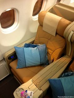 Singapore Airlines Business Class from Seoul to Singapore