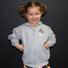 Gorgeous child not included in hoodie price (oh, and don't worry -  it comes in adult sizes too)