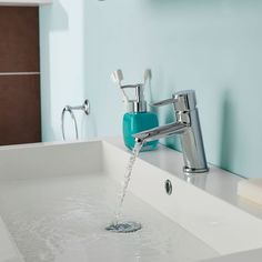 Add modern style to your bathroom with the Firth mono basin mixer
