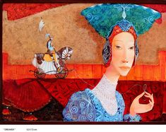 Paintings by Merab Gagiladze - Ego - AlterEgo Magic Realism, All Nature, Fantasy, Fantastic Art, Whimsical Art, Figure Painting, Figurative Art, Contemporary Artists, Illustrations Posters