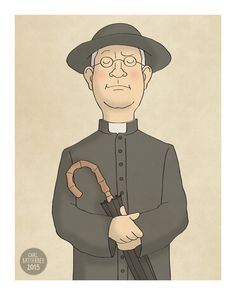 Father Brown  G. K. Chesterton  Illustration by CarlBatterbee