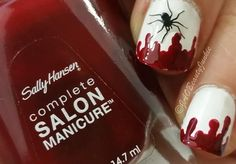 Just An Other Beauty Junkie: Nailart| This is Halloween ♪ ♫ ♪ ♫ ♫ ♪ Nr. 1