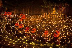 whereart:  awkwardsituationist: yi peng (second full moon) lantern festival in chiang mai, thailand. wish lanterns, also known as khoom loy or khoom fay, are symbolic in thailand of problems and worries floating away. photos (click pic): ng chai hock, pansiri pikunkaew, felix hug, athit perewongmetha, taradol chitmanchaitham