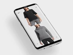 NIKE product page mobile by Anton Skvortsov - Dribbble