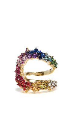 ANA KHOURI Multicolor Mirian Ring