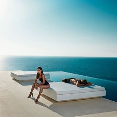 Image result for vondom outdoor double lounger