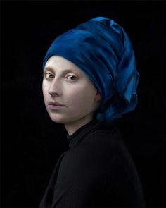 Hendrik Kerstens · Blue Turban | Self Portrait · 2017 · Courtesy Jenkins Johnson Gallery · San Francisco