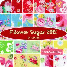 Flower Sugar 2012 Yardage Lecien Fabrics