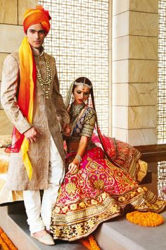 Tarun Tahiliani Lehenga - Vogue India - August 2014