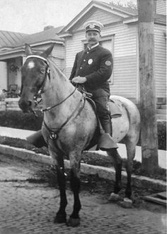 Ed Erhart Louisville, police officer from 1900 to 1917, Louisville, Ky., ca. 1900