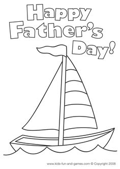 free toddler coloring pages-fathers day | Father ...