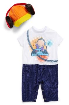Cute for Halloween! 'Baby beats DJ' costume.