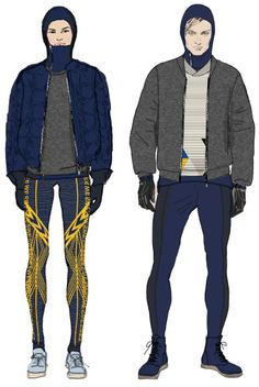 Modeconnect's Fashion News Round-Up – April, H has signed 4 year deal to dress the Swedish Olympics & Paralympics teams in Sochi & in Rio de Janeiro Moda Fashion, Fashion Week, Sport Fashion, Men's Activewear, Sports Uniforms, Outdoor Apparel, Fashion Sketchbook, Fashion Portfolio, Fashion Design Sketches