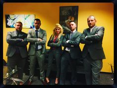 The management team from Atlantic Business Consultants is ready to Rock!