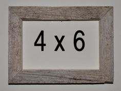 4 x 6 Driftwood Picture Frame 279 by DriftwoodMemories on Etsy, $16.95