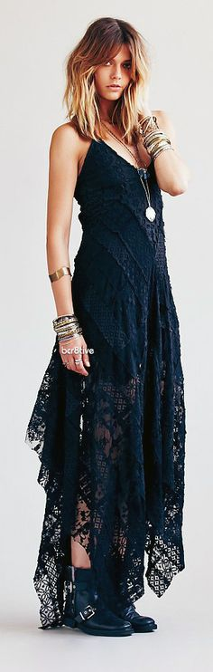 Free People ONE Cast Away Gown
