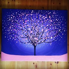 Bridget Gahagan original Tree painting