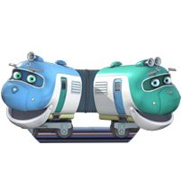 chuggington characters - Google Search - Hoot and Toot