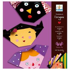 A wonderfully simple step-by-step approach to origami for young beginners. Each sheet of paper in the set is colorfully designed and includes clearly marked fold lines, which children can follow to ma