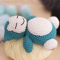 Ravelry: Amigurumi Snorlax by Elf of the Threads – crochet Bra… Ravelry: Amigurumi Snorlax by Elf of the Threads – crochet Bra… – Origami ♥ ♥ – Crochet Bra, Cute Crochet, Crochet Crafts, Crochet Dolls, Crochet Stitches, Pokemon Crochet Pattern, Amigurumi Patterns, Crochet Patterns, Knitting Projects