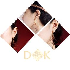 This Vierecke earings gonna make your perfect outfit more perfect ✨   Link on our BIO for order   #beBOLDbeYOU   Kiss and Peace✌️ DK  #Indonesia #designer #accessories #jewelry #handmade #boho #wire #earings #design #art #spring #collection #bohemian #gypsy #hippie #edgy #bold #localbrand #localbrandid #localbrandindonesia #jewellery #fashion #style