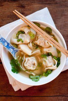 Fancy Food Fancy - Wonton Soup