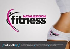 Natalie Dixon Fitness Logo Design Fitness Studio, Fitness Logo, Business Logo Design, Business Card Logo, Inspiration Fitness, Logo Inspiration, Massage Logo, Sports Massage, Logo Type